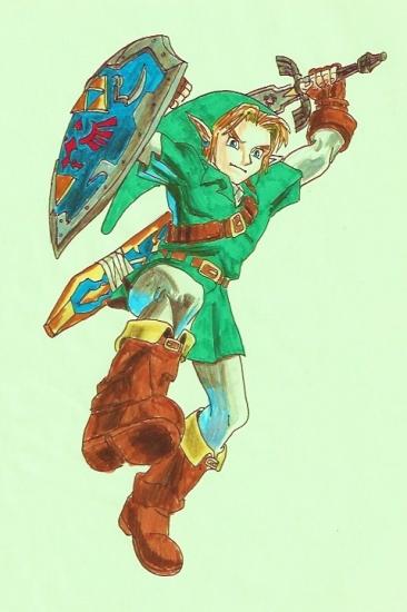 Zelda par Gech